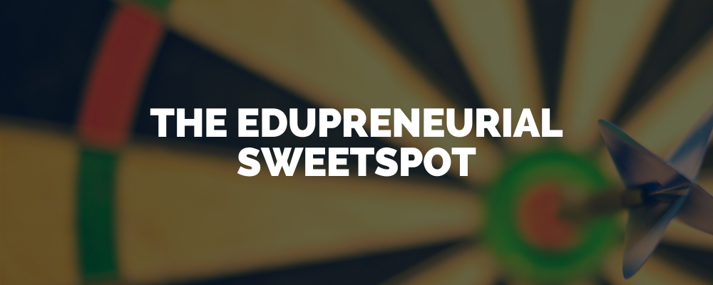 The Edupreneurial Sweetspot (1)
